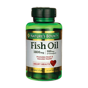 Dầu cá Natures Bounty Fish Oil