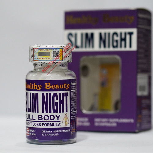 vien-uong-giam-can-ban-dem-slim-night-healthy-beauty