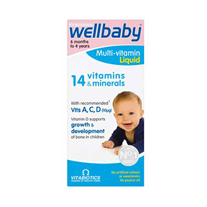 Vitamin Tổng Hợp Wellbaby Multi Vitamin Liquid